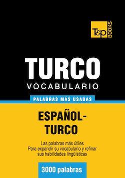 Vocabulario español-turco - 3000 palabras más usadas