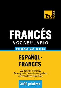 Vocabulario español-francés - 3000 palabras más usadas