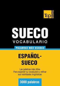 Vocabulario español-sueco - 3000 palabras más usadas