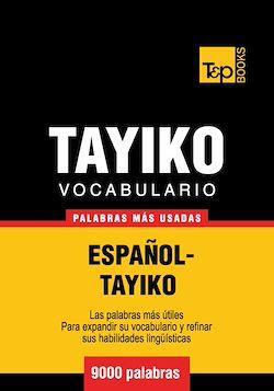 Vocabulario Español-Tayiko - 9000 palabras más usadas