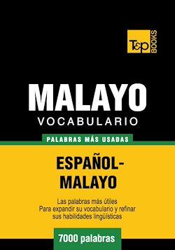 Vocabulario Español-Malayo - 7000 palabras más usadas