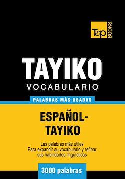 Vocabulario Español-Tayiko - 3000 palabras más usadas