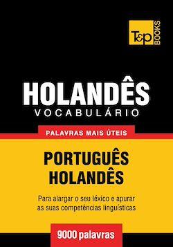 Vocabulário Português-Holandês - 9000 palavras mais úteis