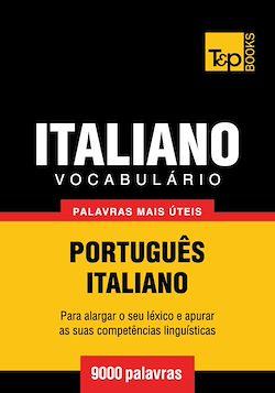 Vocabulário Português-Italiano - 9000 palavras mais úteis