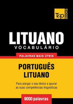 Vocabulário Português-Lituano - 9000 palavras mais úteis