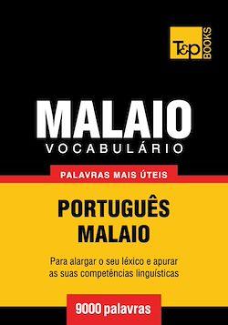 Vocabulário Português-Malaio - 9000 palavras mais úteis