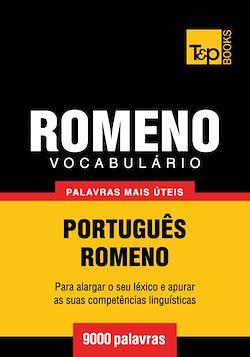 Vocabulário Português-Romeno - 9000 palavras mais úteis