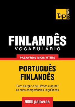 Vocabulário Português-Finlandês - 9000 palavras mais úteis