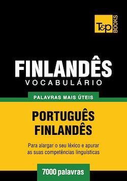 Vocabulário Português-Finlandês - 7000 palavras mais úteis