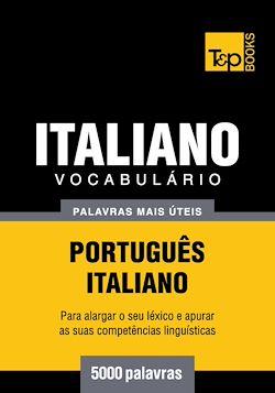 Vocabulário Português-Italiano - 5000 palavras mais úteis