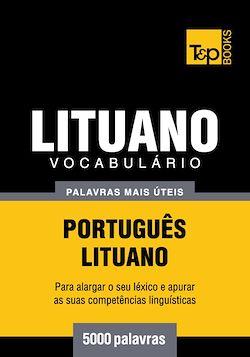 Vocabulário Português-Lituano - 5000 palavras mais úteis