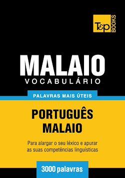 Vocabulário Português-Malaio - 3000 palavras mais úteis