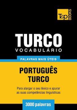 Vocabulário Português-Turco - 3000 palavras mais úteis