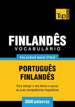 Vocabulário Português-Finlandês - 3000 palavras mais úteis