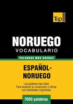 Vocabulario español-noruego - 7000 palabras más usadas