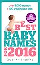 Download this eBook Best Baby Names for 2016