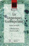 Télécharger le livre :  Les Linguistiques contemporaines - Repères théoriques