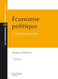 Téléchargez le livre :  Économie politique - Tome 2 - Microéconomie