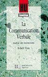 Télécharger le livre :  La Communication verbale