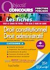 Télécharger le livre :  Objectif Concours - Droit constitutionnel et droit administratif - Catégorie A