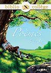Télécharger le livre :  Bibliocollège - Poèmes 4e - 3e