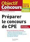 Télécharger le livre :  Préparer Le Concours De CPE 2018