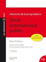 Download this eBook Les Fondamentaux - Mémento de la jurisprudence Droit International Public