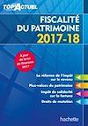 Télécharger le livre :  Top'Actuel Fiscalité Du Patrimoine 2017/2018