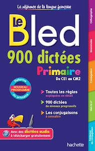 Téléchargez le livre :  Bled 900 Dictées Primaire