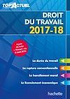 Télécharger le livre :  Top'Actuel Droit Du Travail 2017-2018