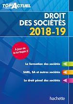 Download this eBook Top'Actuel Droit Des Sociétés 2018-2019