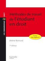 Download this eBook Les Fondamentaux - Méthodes de travail de l'étudiant en droit