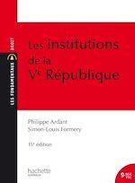 Download this eBook Les Institutions de la Ve République