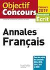 Télécharger le livre :  Objectif CRPE Annales Français 2019
