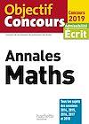 Télécharger le livre :  Objectif CRPE Annales Maths 2019