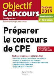 Téléchargez le livre :  Préparer Le Concours De CPE 2019