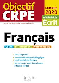 Téléchargez le livre :  Objectif CRPE Français 2021