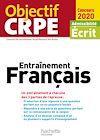 Télécharger le livre :  Objectif CRPE Entrainement en français 2020