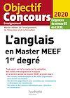 Télécharger le livre :  L'anglais en Master MEEF 1er degré 2020