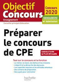 Téléchargez le livre :  Préparer Le Concours De CPE 2021