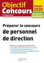 Téléchargez le livre :  Préparer le concours de personnel de direction 2021