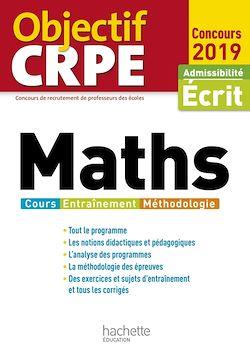 Objectif CRPE Maths 2019
