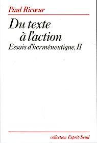Téléchargez le livre :  Du texte à l'action. Essais d'herméneutique, t. 2
