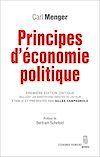 Télécharger le livre :  Principes d'économie politique. Première édition critique incluant les annotations inédites de l'aut