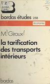 La tarification des transports intérieurs