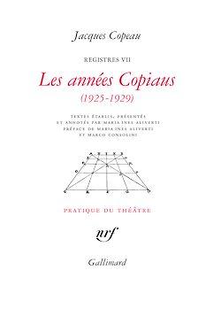 Download the eBook: Les années Copiaus (1925-1929)