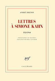 Téléchargez le livre :  Lettres à Simone Kahn (1920-1960)