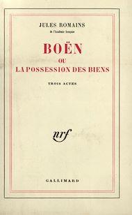 Téléchargez le livre :  Boën ou la possession des biens