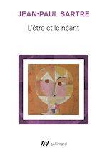Download this eBook L'être et le néant. Essai d'ontologie phénoménologique