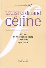 Download this eBook Lettres et premiers écrits d'Afrique
